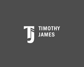 musician monogram logo design