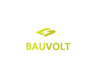 bauvolt logo design