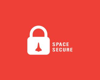 space secure logo design