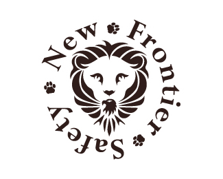 new frontier safety logo design