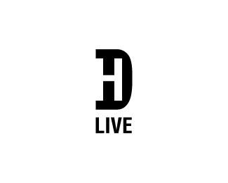 hd live logo design