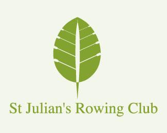 st julian's rowing club logo design