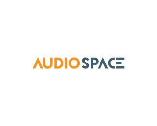 audio space logo design