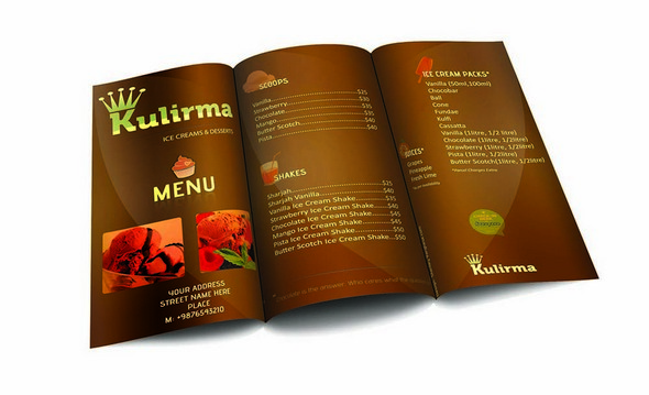 Sample Restaurant Brochure Best Restaurant Flyer Templates Wakaboom
