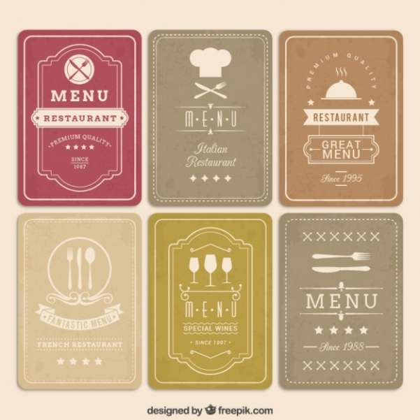 50 Free Food Restaurant Menu Templates XDesigns – Free Food Menu Template