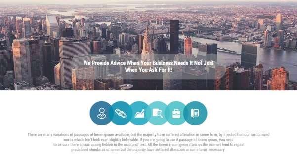 pro multipurpose keynote presentation template screenshot