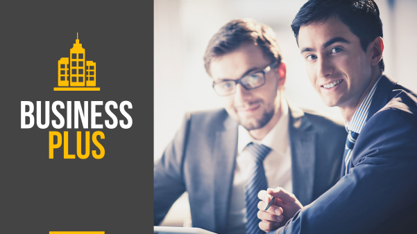 business plus keynote template screenshot