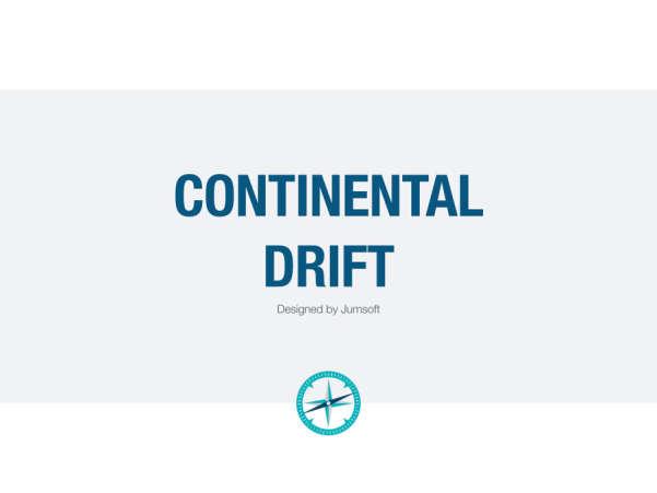 continental drift keynote template screenshot
