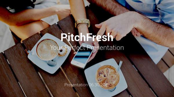 pitch fresh keynote presentation screenshot