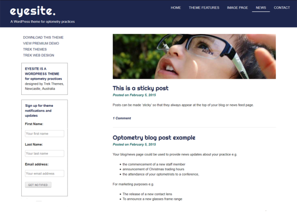 eyesite wordpress theme