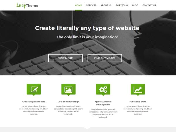 lucy wordpress theme
