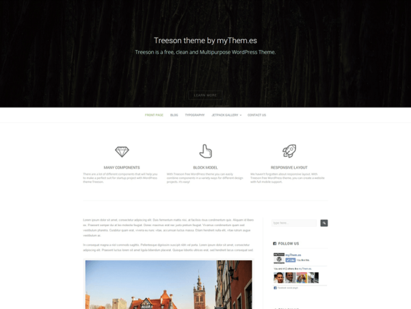 treeson wordpress theme