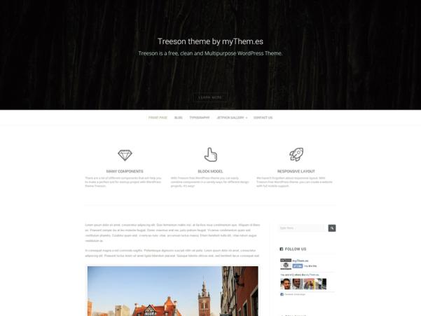 treeson wordpress theme