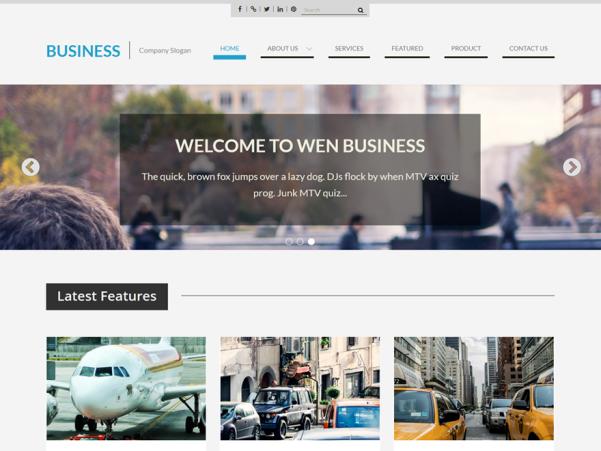 wen business wordpress theme