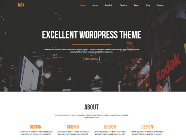 business one wordpress theme