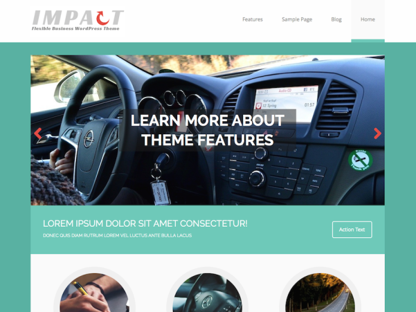 mh impact lite wordpress theme