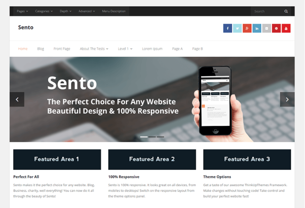 sento wordpress theme