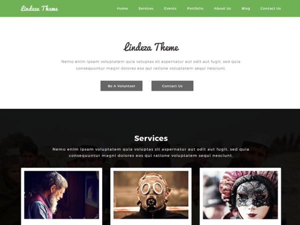 lindeza wordpress theme