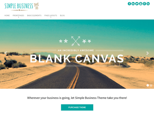 simple business wp wordpress theme