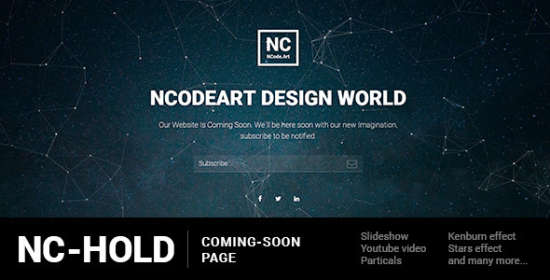 nchold comingsoon page
