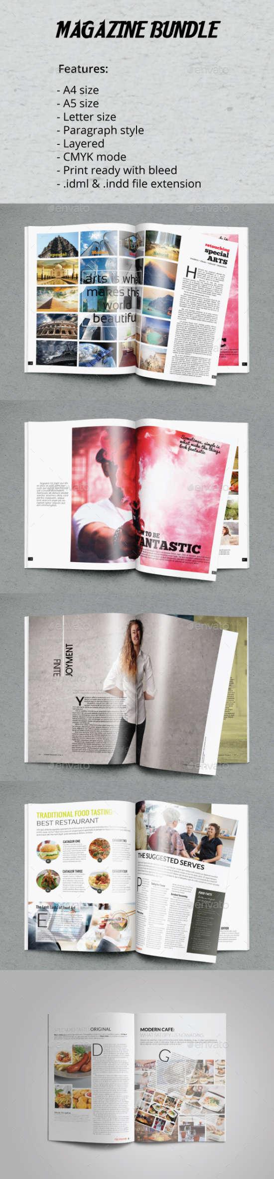 15 Nice InDesign Magazine Templates - XDesigns