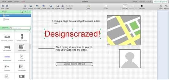 mockingbird wireframe online tool