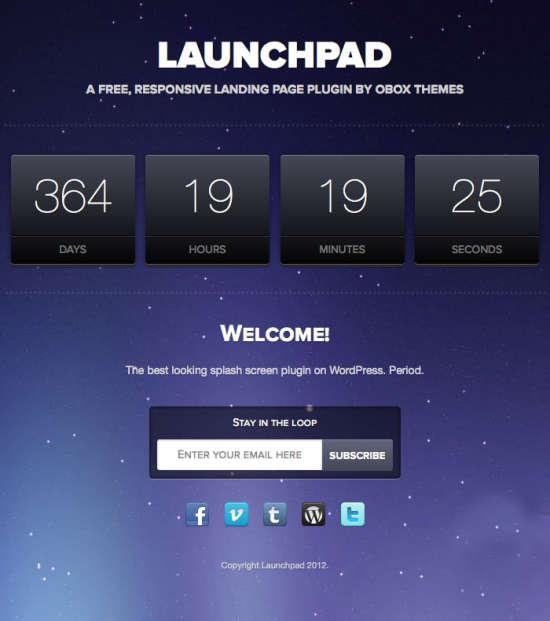 launchpad obox plugin