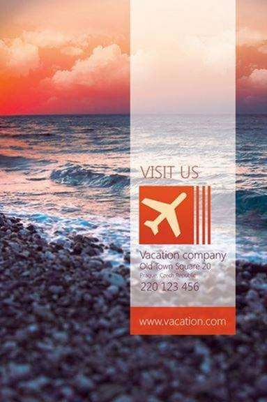 vacation flyer by martz90 on deviant art