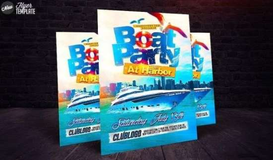 boat party on sick leaflets