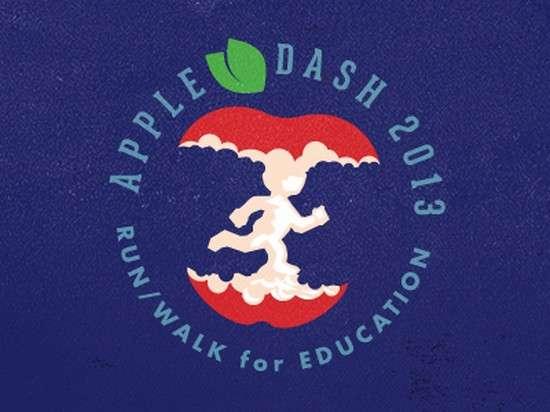 apple dash 2013 logo design