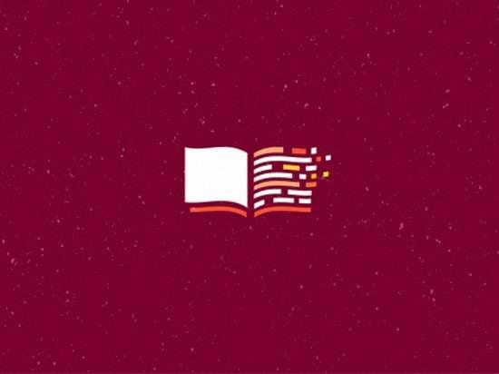 coding book logo design