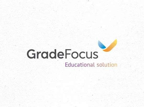 gradefocus logo design