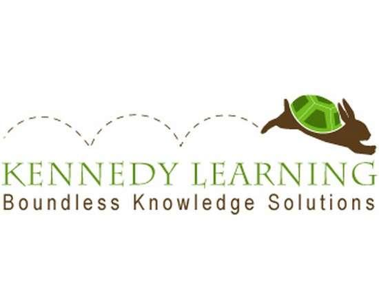 kennedy learning logo design