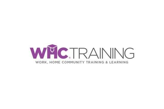 whc training visual identity logo design