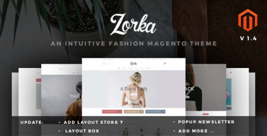 zorka wonderful fashion ecommerce magento themes