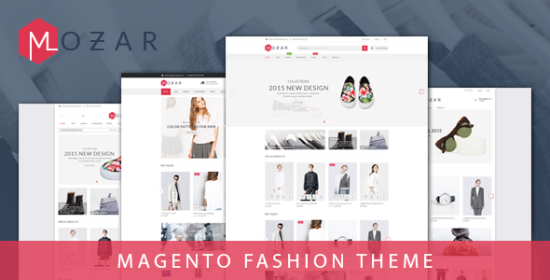 mozar magento clothing theme