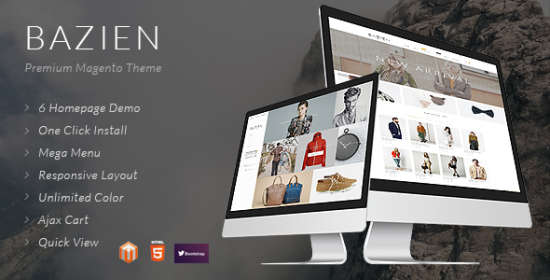 the bazien magento theme