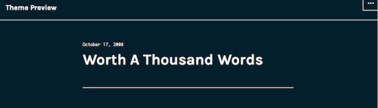 cyanotype wordpress theme