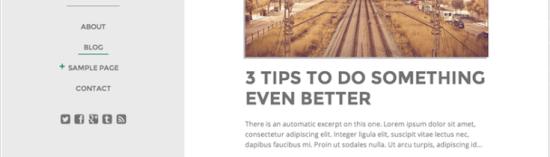 drop blogger wordpress theme