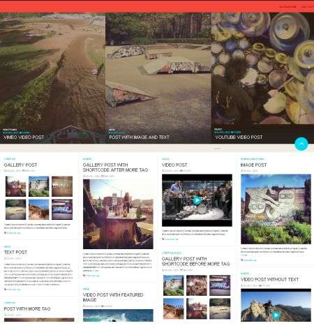 fulby wordpress theme that is bootstrap width=