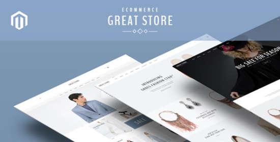 greatstore responsive magento theme