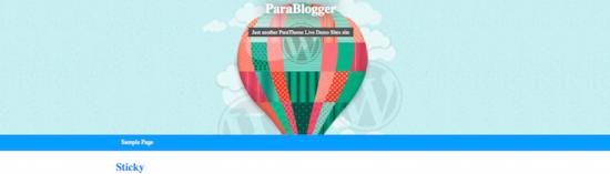 parablogger theme