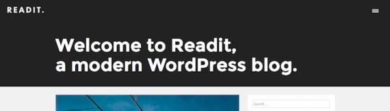 readit wordpress theme
