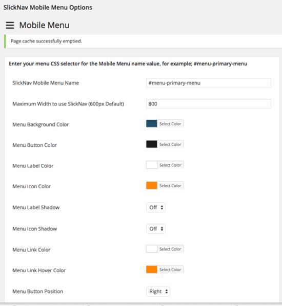 slicknav mobile menu