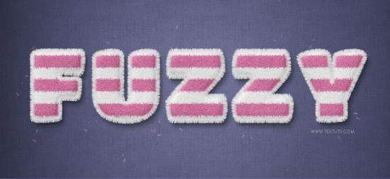 stripped fuzzy text impact free photoshop text effect tutorial