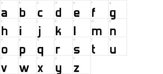 forgotten futurist font