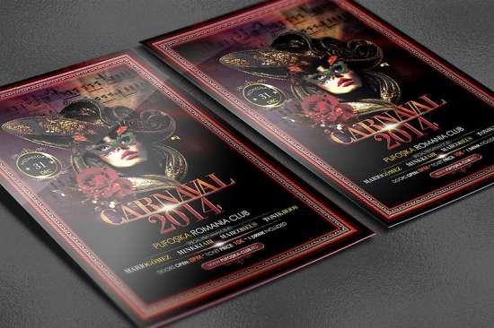 carnaval 2014 poster flyer