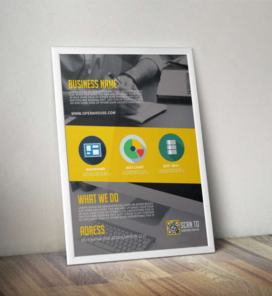 corporate flyer freebie
