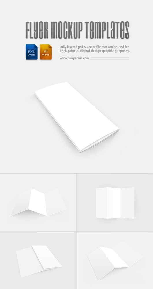 flyer mockup templates