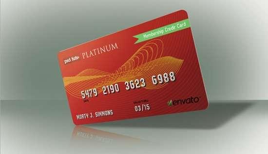 realistic credit card mockups free